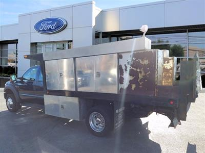 2013 Ford F-550 Super Cab DRW 4x4, Platform Body #WU0010182 - photo 5