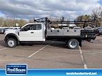 2020 Ford F-450 Super Cab DRW 4x4, Freedom Contractor Body #WU001196 - photo 8
