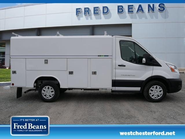 2020 Ford Transit 350 RWD, Reading Aluminum CSV Service Utility Van #WU00303 - photo 3