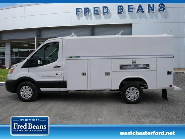 2020 Ford Transit 350 RWD, Reading Aluminum CSV Service Utility Van #WU00303 - photo 4