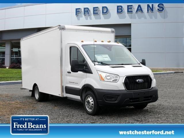 2020 Ford Transit 350 HD DRW RWD, Supreme Spartan Cargo Cutaway Van #WU00354 - photo 3