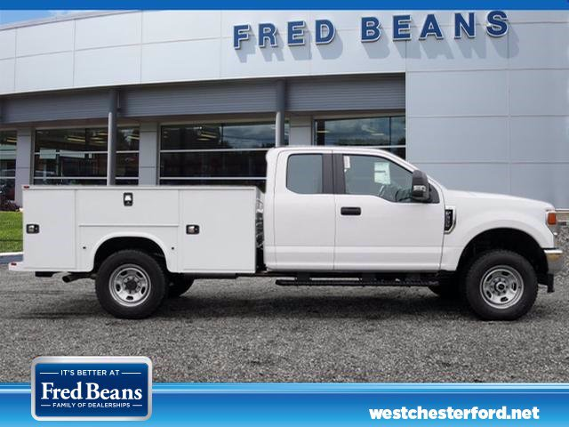 2020 Ford F-350 Super Cab 4x4, Knapheide Steel Service Body #WU00357 - photo 4