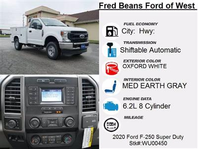 2020 Ford F-250 Regular Cab 4x4, Knapheide Steel Service Body #WU00450 - photo 11