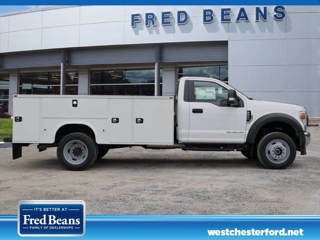 2020 Ford F-450 Regular Cab DRW 4x4, Knapheide Steel Service Body #WU00451 - photo 4