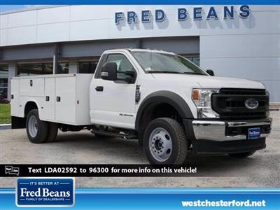 2020 Ford F-450 Regular Cab DRW 4x4, Knapheide Steel Service Body #WU00451 - photo 1