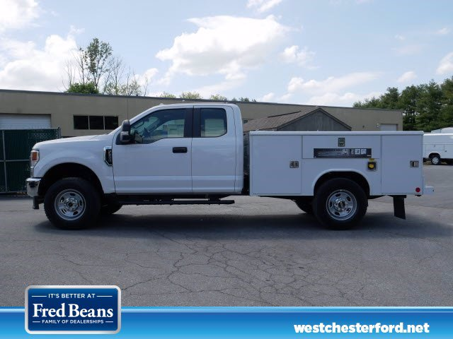 2020 Ford F-350 Super Cab 4x4, Reading Classic II Steel Service Body #WU00492 - photo 8