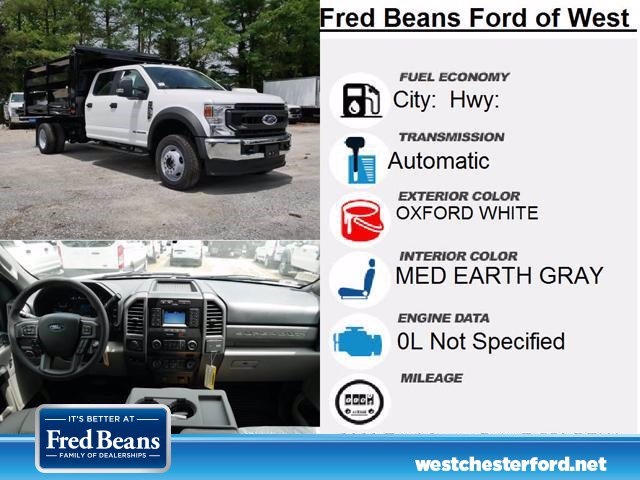 2020 Ford F-550 Crew Cab DRW 4x4, Rugby Landscape Dump #WU00571 - photo 14