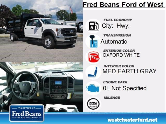 2020 Ford F-550 Crew Cab DRW 4x4, Rugby Landscape Dump #WU00619 - photo 14