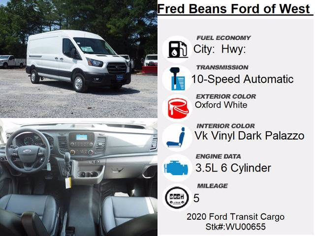2020 Ford Transit 250 Med Roof AWD, Empty Cargo Van #WU00655 - photo 15