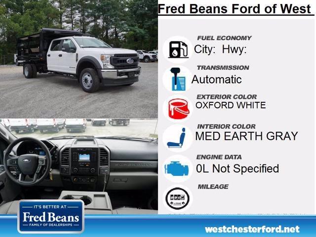 2020 Ford F-550 Crew Cab DRW 4x4, Rugby Landscape Dump #WU00675 - photo 5