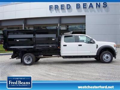 2020 Ford F-550 Crew Cab DRW 4x4, Rugby Landscape Dump #WU00675 - photo 4