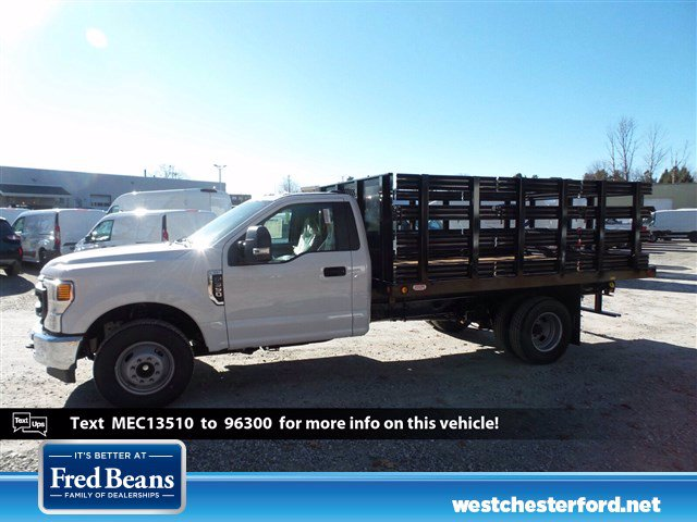 2021 Ford F-350 Regular Cab DRW 4x2, Reading Platform Body Stake Bed #WU100102 - photo 1