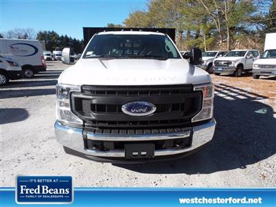 2021 Ford F-350 Regular Cab DRW 4x2, Reading Platform Body Stake Bed #WU100102 - photo 3