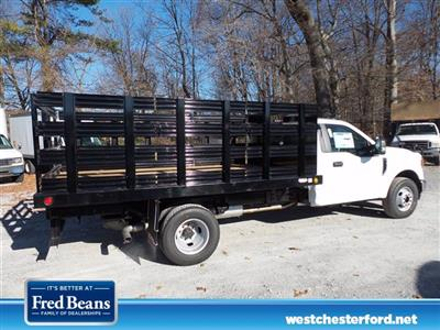 2021 Ford F-350 Regular Cab DRW 4x2, Reading Platform Body Stake Bed #WU100102 - photo 2
