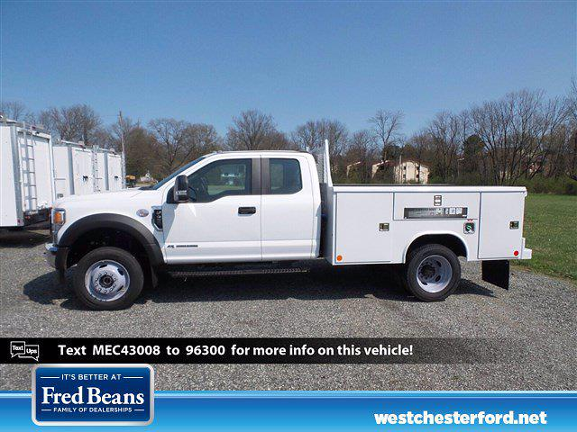 2021 Ford F-450 Super Cab DRW 4x4, Reading Classic II Steel Service Body #WU10207 - photo 2