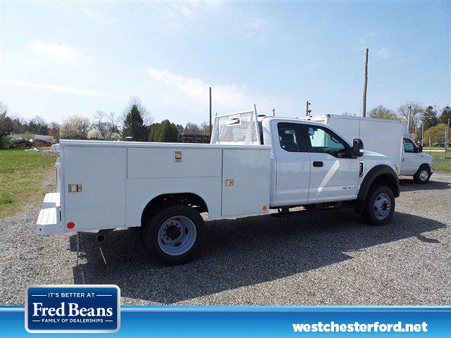 2021 Ford F-450 Super Cab DRW 4x4, Reading Classic II Steel Service Body #WU10207 - photo 3