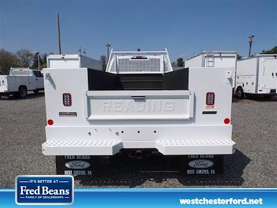 2021 Ford F-450 Super Cab DRW 4x4, Reading Classic II Steel Service Body #WU10207 - photo 4