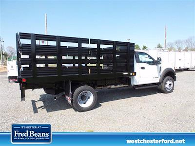 2021 Ford F-450 Regular Cab DRW 4x2, Reading Steel Stake Bed #WU10255 - photo 3