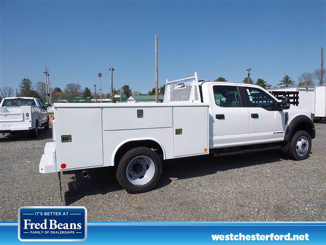 2021 Ford F-550 Crew Cab DRW 4x4, Reading SL Service Body #WU10256 - photo 3