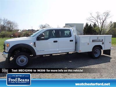 2021 Ford F-550 Crew Cab DRW 4x4, Reading SL Service Body #WU10256 - photo 2