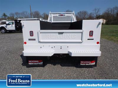 2021 Ford F-550 Crew Cab DRW 4x4, Reading SL Service Body #WU10256 - photo 4