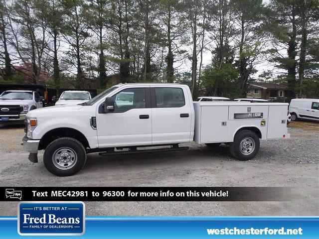 2021 Ford F-350 Crew Cab 4x4, Reading Service Body #WU10274 - photo 1