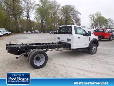 2021 Ford F-550 Regular Cab DRW 4x4, Cab Chassis #WU10438 - photo 3