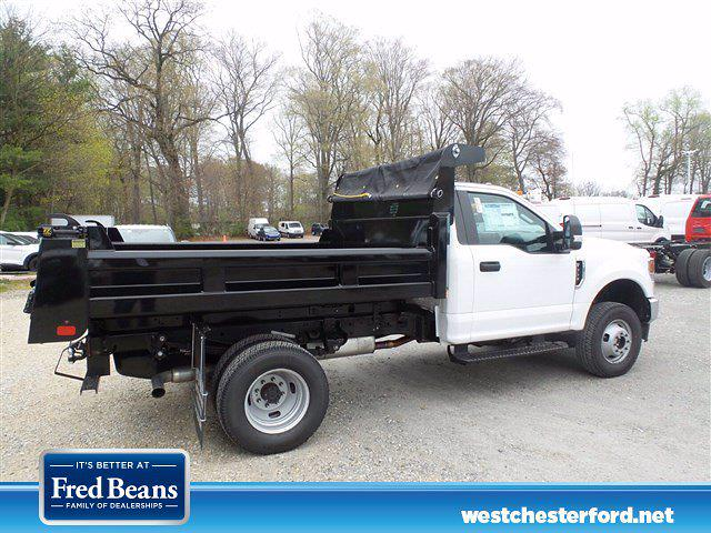 2021 Ford F-350 Regular Cab DRW 4x4, Rugby Dump Body #WU10458 - photo 1