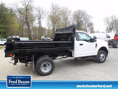 2021 Ford F-350 Regular Cab DRW 4x4, Rugby Eliminator LP Steel Dump Body #WU10458 - photo 2