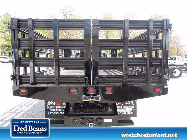 2021 Ford F-450 Regular Cab DRW 4x4, Knapheide Value-Master X Stake Bed #WU10466 - photo 5