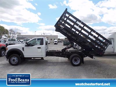 2021 Ford F-450 Regular Cab DRW 4x4, Knapheide Value-Master X Stake Bed #WU10466 - photo 2