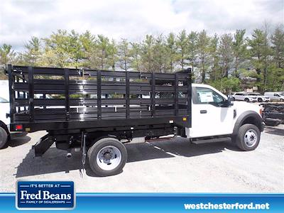 2021 Ford F-450 Regular Cab DRW 4x4, Knapheide Value-Master X Stake Bed #WU10466 - photo 4