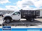 2021 Ford F-450 Regular Cab DRW 4x4, Knapheide Value-Master X Stake Bed #WU10466 - photo 1