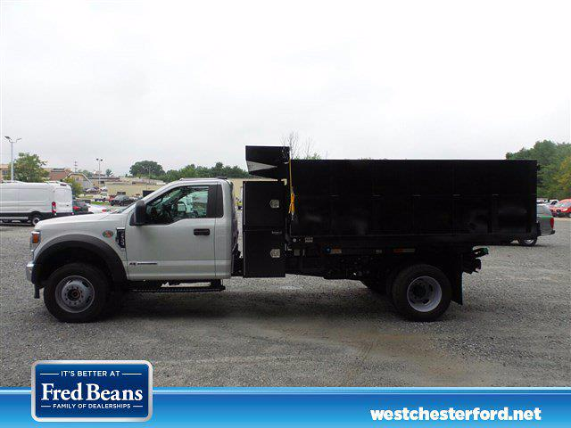 2021 F-600 Regular Cab DRW 4x4,  South Jersey Truck Bodies Landscape Dump #WU10487 - photo 2