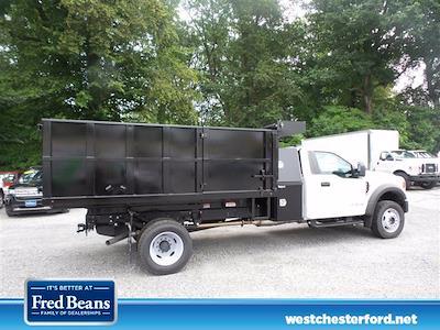 2021 F-600 Regular Cab DRW 4x4,  South Jersey Truck Bodies Landscape Dump #WU10487 - photo 8