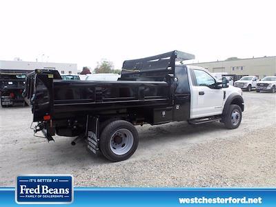 2021 Ford F-550 Regular Cab DRW 4x4, Rugby Eliminator LP Steel Dump Body #WU10488 - photo 2