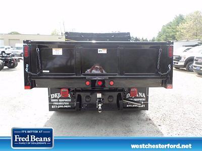 2021 Ford F-550 Regular Cab DRW 4x4, Rugby Eliminator LP Steel Dump Body #WU10488 - photo 4