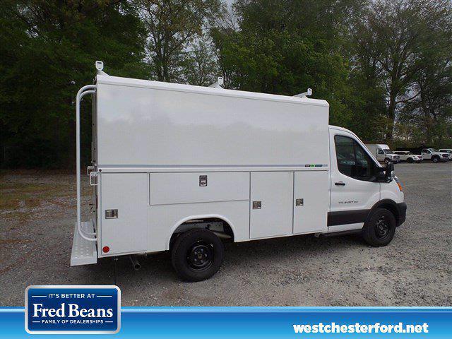 2021 Ford Transit 350 4x2, Reading Aluminum CSV Service Utility Van #WU10500 - photo 3