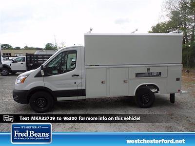 2021 Ford Transit 350 4x2, Reading Aluminum CSV Service Utility Van #WU10500 - photo 2