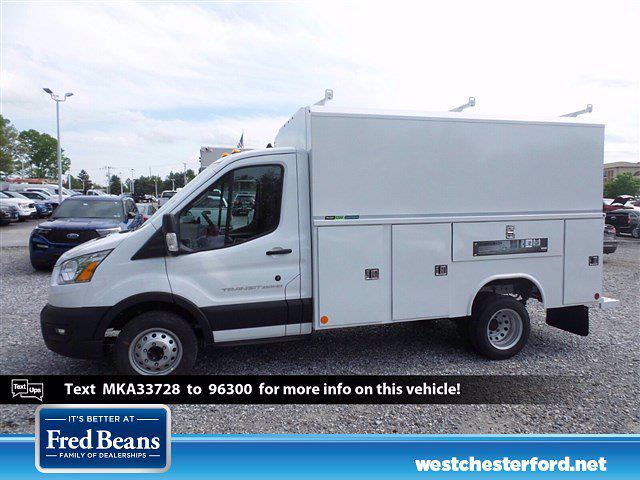 2021 Ford Transit 350 HD 4x2, Reading Aluminum CSV Service Utility Van #WU10503 - photo 1