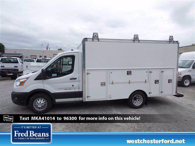 2021 Ford Transit 350 HD Low Roof AWD, Supreme Spartan Cargo Cutaway Van #WU10576 - photo 3