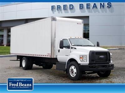 2019 Ford F-650, Morgan Dry Freight