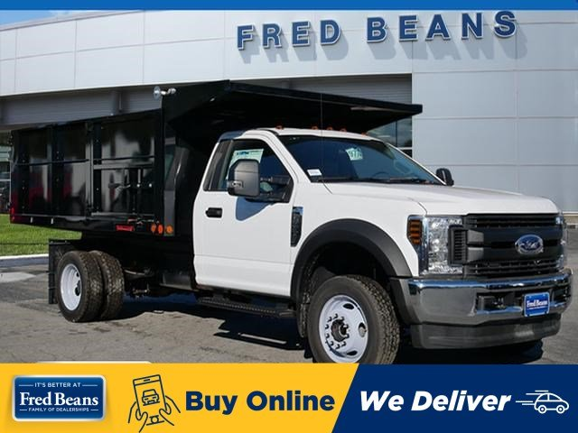 2019 F-450 Regular Cab DRW 4x4,  Freedom Landscape Dump #WU191219 - photo 1