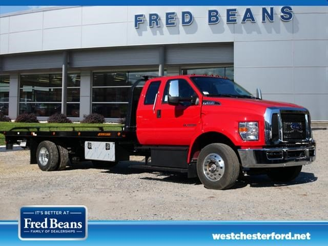2019 F-650 Super Cab DRW 4x2, Jerr-Dan Rollback Body #WU191222 - photo 1