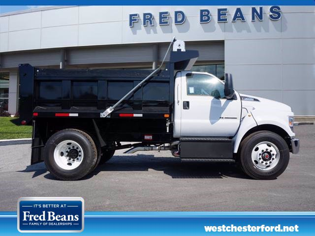 2019 F-650 Regular Cab DRW 4x2, Godwin 300T Dump Body #WU191237 - photo 3