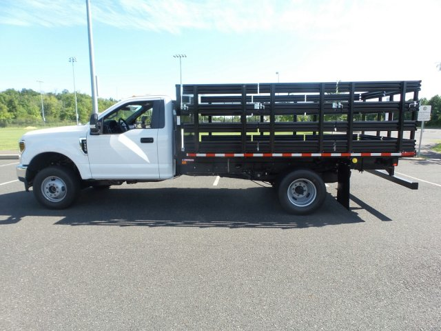 2019 F-350 Regular Cab DRW 4x4,  Morgan Stake Bed #WU191363 - photo 8