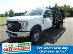 2019 F-350 Regular Cab DRW 4x4,  Morgan Stake Bed #WU191363 - photo 1