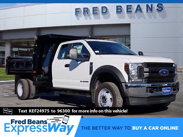 2019 F-550 Super Cab DRW 4x4, Rugby Eliminator LP Steel Dump Body #WU191378 - photo 1