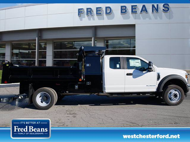 2019 F-550 Super Cab DRW 4x4, Rugby Eliminator LP Steel Dump Body #WU191378 - photo 3