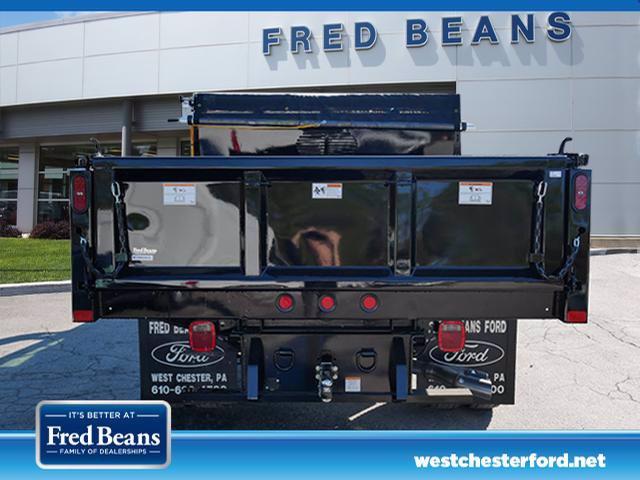 2019 F-550 Super Cab DRW 4x4,  Rugby Eliminator LP Steel Dump Body #WU191378 - photo 4